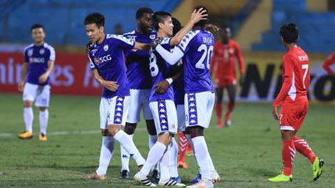 AFC Cup 2019, Hà Nội FC 10-0 Naga World: Mưa gôn trên sân Hàng Đẫy