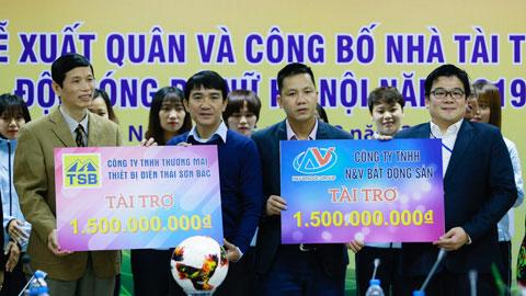 CLB nữ Hà Nội công bố nhà tài trợ mùa 2019