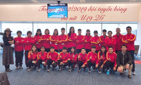 Thông tin U19 nữ Việt Nam tham dự giải giao hữu quốc tế Jenesys tại Nhật Bản (ngày 28/2)