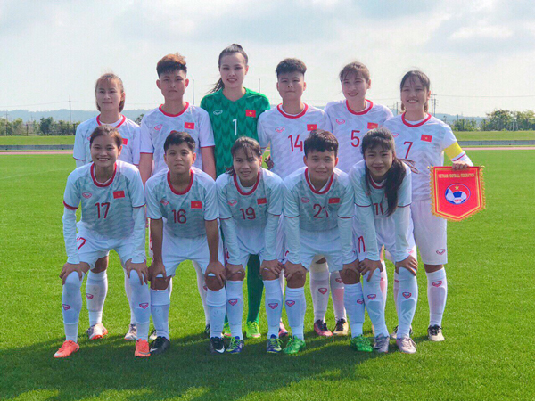 Giao hữu quốc tế Jenesys Nhật Bản 2019, U19 nữ Việt Nam - U19 nữ Myanmar: 0-0
