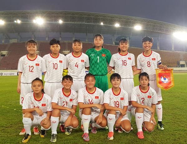 VL 2 giải U16 nữ châu Á 2019 (bảng A): Việt Nam giành trọn 3 điểm đầu tiên