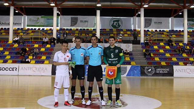 Giao hữu tại Tây Ban Nha, ĐT futsal Việt Nam vs. UMA Antequera: 4-5