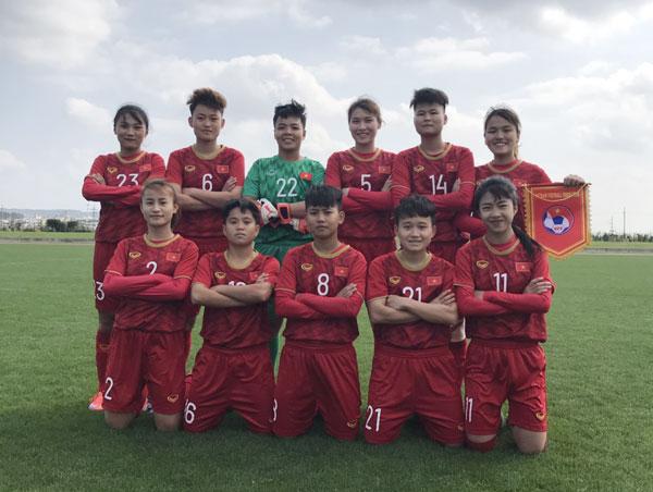 Giải giao hữu quốc tế Jenesys Nhật Bản 2019, U19 nữ Việt Nam – U19 nữ Thái Lan: 0-2