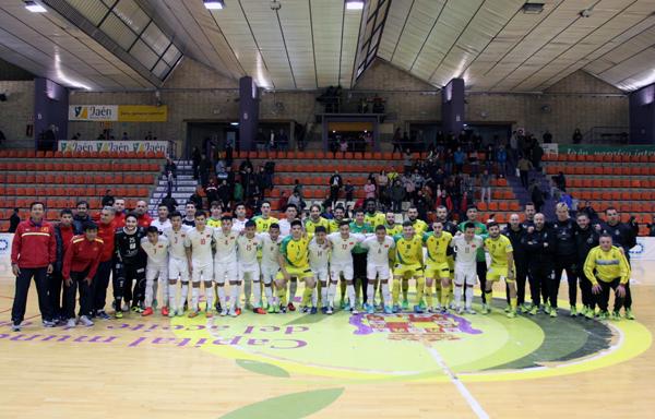 Giao hữu tại Tây Ban Nha, ĐT futsal Việt Nam vs. CLB Jaen: 0-6
