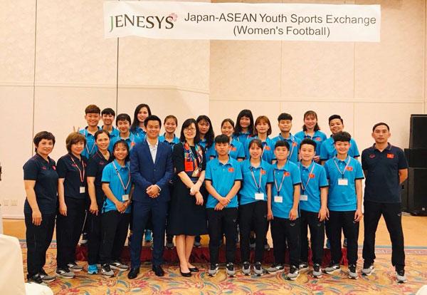 Khép lại chuyến thi đấu giao hữu tại Nhật Bản, ĐT U19 nữ Việt Nam trở về Hà Nội vào tối nay (7/3)