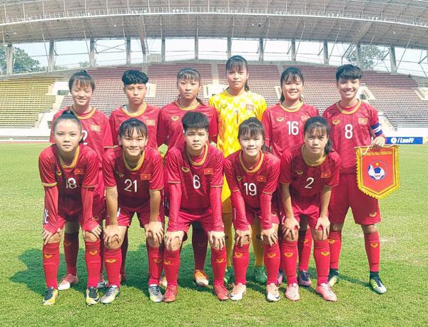 Việt Nam giành vé tham dự VCK giải U16 nữ châu Á 2019