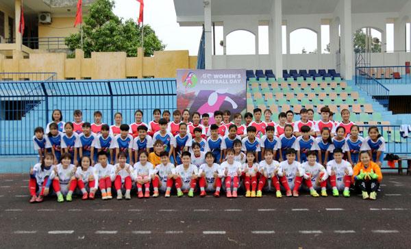 VFF hưởng ứng tổ chức Ngày hội bóng đá nữ AFC – 8/3