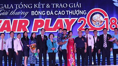 Quang Hải, Văn Hậu, Tiến Dũng và Đức Chinh giành giải Fair-play 2018
