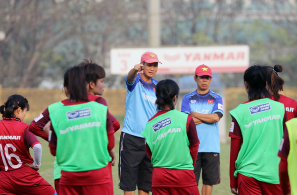 """ĐT nữ Việt Nam """"thử lửa"""" 2 trận với Myanmar trước thềm Vòng loại Olympic 2020"""