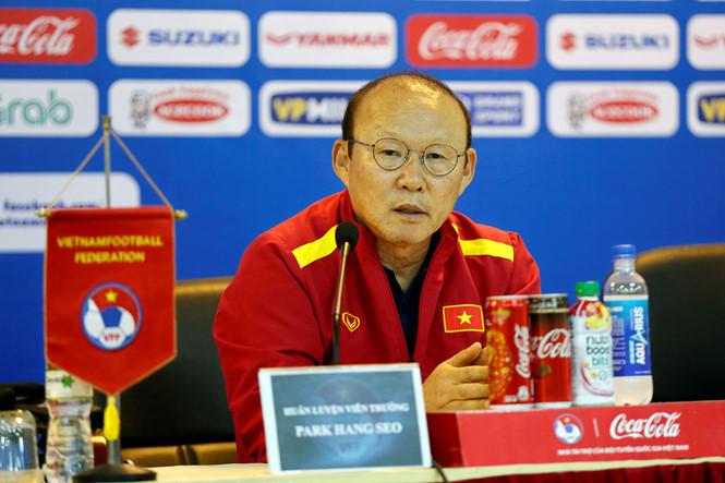 HLV Park Hang-seo không e ngại Thái Lan tại Vòng loại U23 châu Á 2020