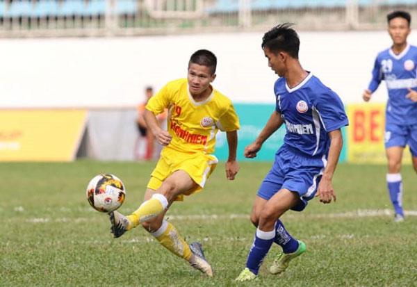 Kết quả lượt 3 bảng B VCK U19 Quốc gia 2019, ngày 13/3: SLNA và Hà Nội giành quyền vào bán kết