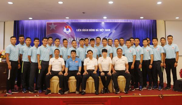 Khai mạc lớp tập huấn trọng tài các giải bóng đá trẻ Quốc gia 2019
