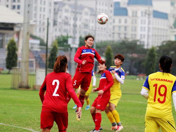 Hướng tới VL 2 Olympic 2020: ĐT nữ QG đấu tập trận đầu tiên với ĐT U19 nữ QG