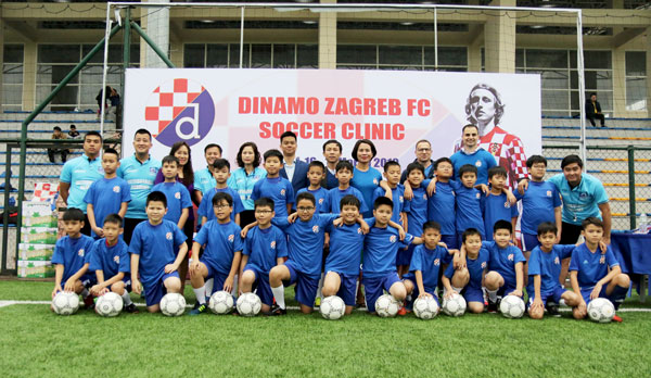 CLB Dinamo Zagreb hướng tới phát triển đào tạo bóng đá trẻ tại Việt Nam