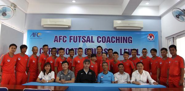 Khai giảng khoá học HLV Futsal cấp 1 AFC năm 2019