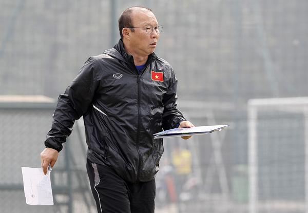 HLV Pak Hang-seo rút gọn danh sách sơ bộ U23 Việt Nam: Chia tay 5 cầu thủ