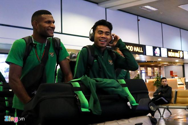 U23 Indonesia đã có mặt tại Việt Nam, đặt quyết tâm giành vé tại bảng K
