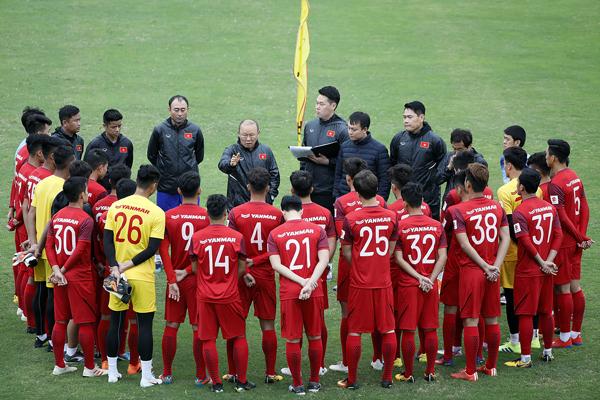 HLV Park Hang-seo công bố danh sách chính thức 23 cầu thủ cho chiến dịch Vòng loại U23 châu Á 2020