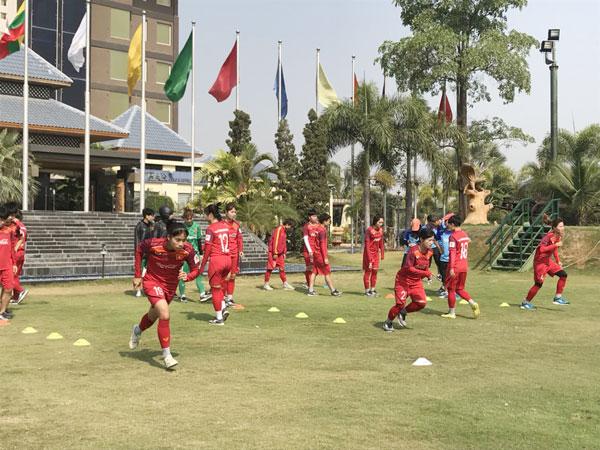 Đội tuyển nữ Quốc gia đã có mặt tại Myanmar, sẵn sàng cho 2 trận giao hữu quan trọng