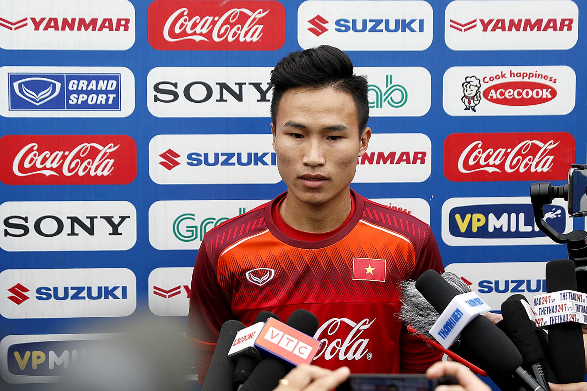 Tiền vệ U23 Việt Nam đặt mục tiêu toàn thắng ở Vòng loại U23 châu Á