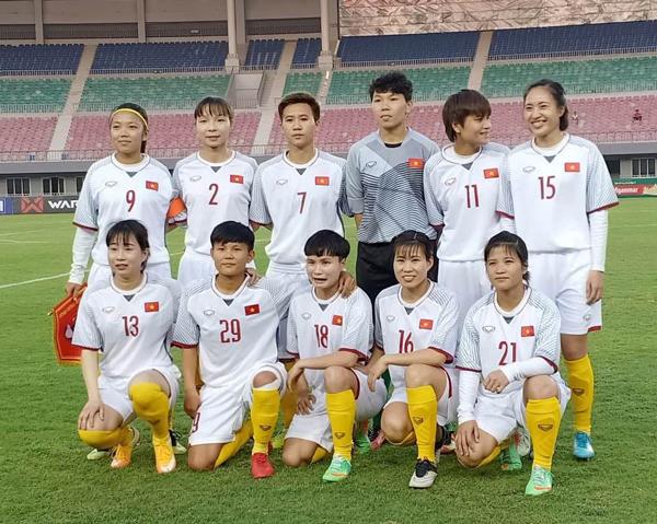 Thi đấu giao hữu (21/3), ĐT nữ Việt Nam vs ĐT nữ Myanmar: 1-0