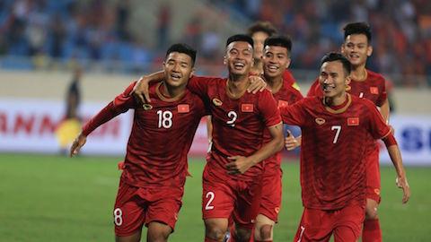 Thắng đậm Brunei, U23 Việt Nam tạm vượt lên dẫn đầu bảng K