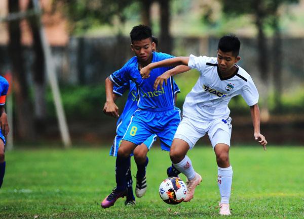 Kết quả lượt 2 vòng loại U15 Quốc gia 2019