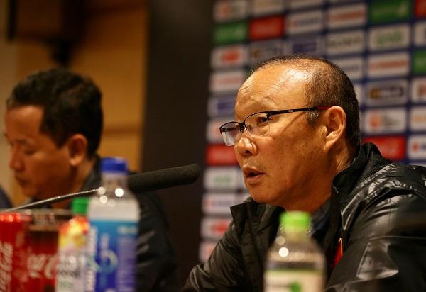 Thắng Indonesia 1-0, HLV Park Hang-seo vẫn chưa hài lòng về các học trò