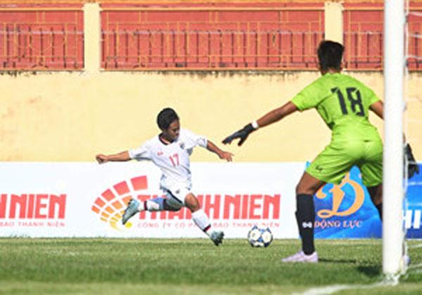 U19 Quốc tế 2019: Thái Lan vào chung kết sau chiến thắng sát nút trước Myanmar