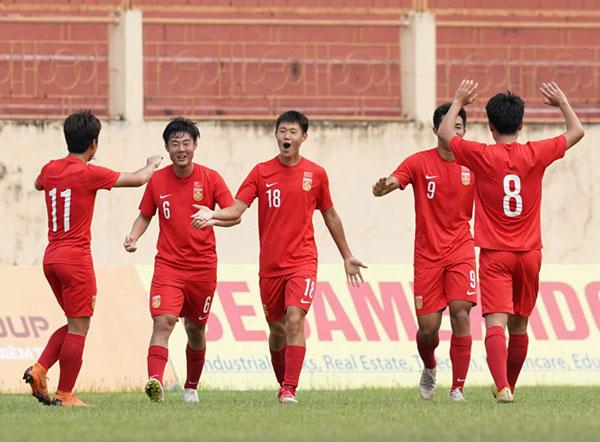 Thắng nghẹt thở Myanmar, Trung Quốc giành hạng 3 U.19 Quốc tế 2019