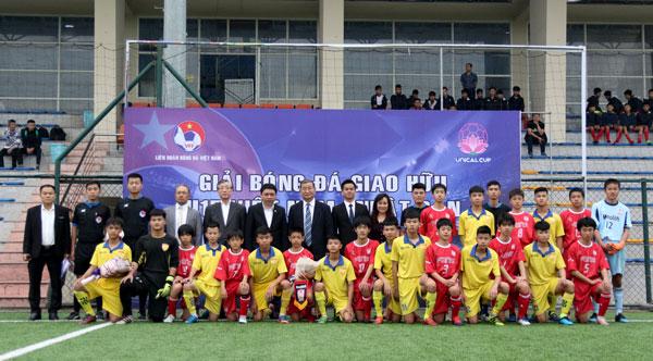 Khai mạc giải bóng đá giao hữu U15 Quốc tế Việt Nam – Nhật Bản