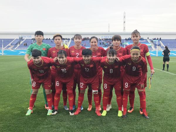 VL 2 Olympic 2020 (bảng B): ĐT Nữ Việt Nam giành chiến thắng 2-1 trước chủ nhà Uzbekistan