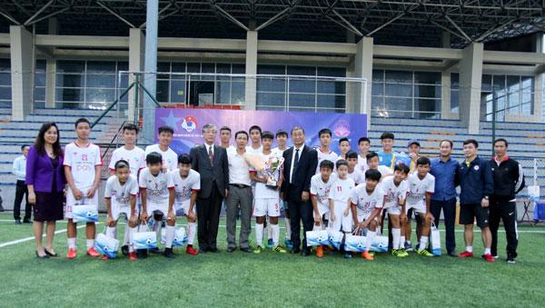 U15 Viettel vô địch giải bóng đá giao hữu U15 Quốc tế Việt Nam - Nhật Bản