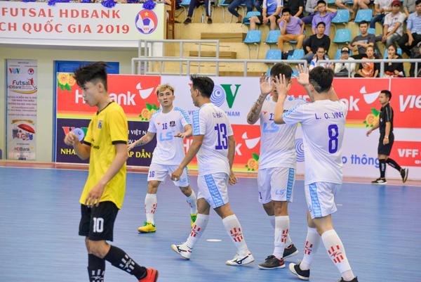 Vòng loại giải futsal HDBank VĐQG 2019: Thái Sơn Bắc giành vé cuối vào VCK