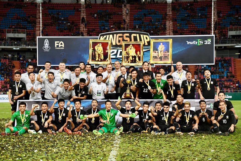 LĐBĐ Thái Lan chốt danh sách các đội khách mời tại King's Cup 2019