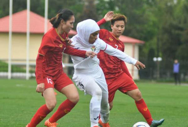 Thắng Jordan 2-0, ĐT nữ Việt Nam giành vé tham dự VL 3 Olympic 2020
