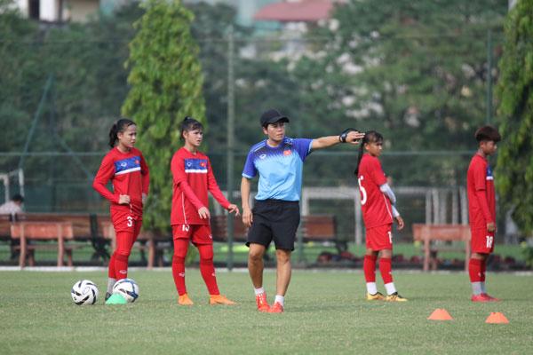 Đủ quân số, đội tuyển U15 nữ Quốc gia chính thức tập luyện vào ngày mai (11/4)