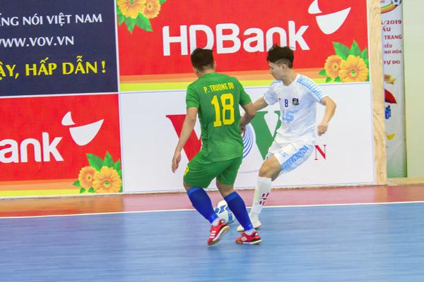 Lượt 5 vòng loại Giải futsal HDBank VĐQG: Thái Sơn Bắc giành ngôi đầu bảng
