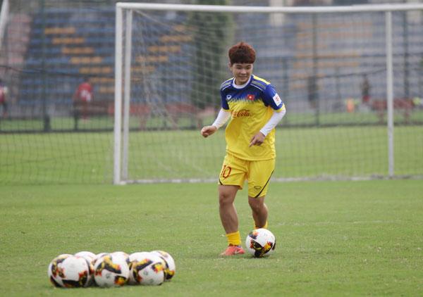 ĐT U19 nữ QG tiếp tục bổ sung lực lượng, hoàn thiện đội hình