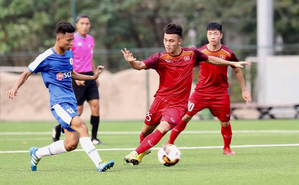 U18 Việt Nam tiếp tục kiểm tra, thử nghiệm đội hình