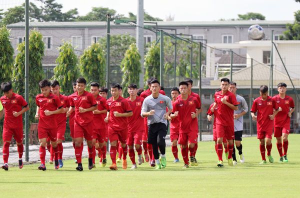 Danh sách chính thức ĐT U18 Việt Nam tham dự Giải U18 Quốc tế Hong Kong 2019