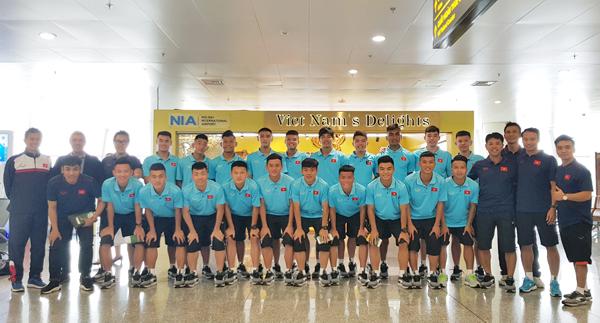 ĐT U18 Việt Nam lên đường tham dự Giải U18 Quốc tế tại Hong Kong