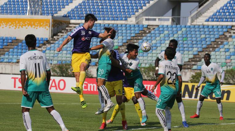[AFC Cup 2019] Hà Nội thắng đậm Yangon United trên sân khách