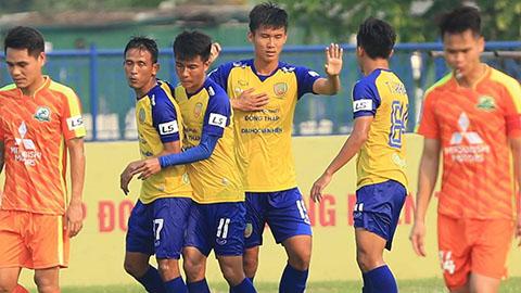 Vòng 3 hạng Nhất LS 2019: Đồng Tháp lên ngôi đầu, Huế bại trận