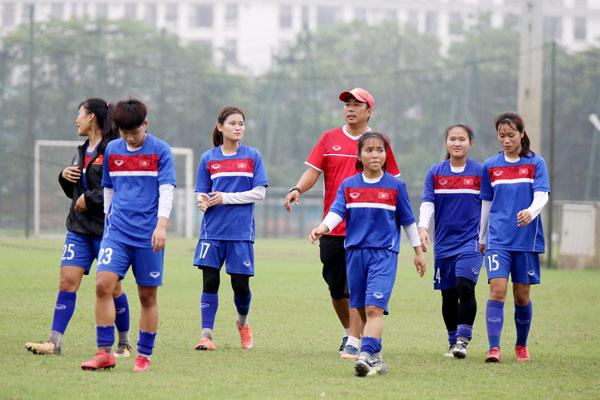 VL 2 giải U19 nữ châu Á 2019 (bảng B): Đội tuyển U19 nữ Việt Nam tự tin trước trận mở màn
