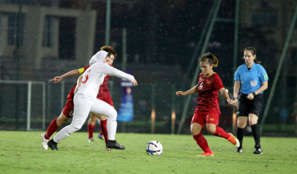 VL 2 giải U19 nữ châu Á 2019 (bảng B): Việt Nam - Iran: 1-1