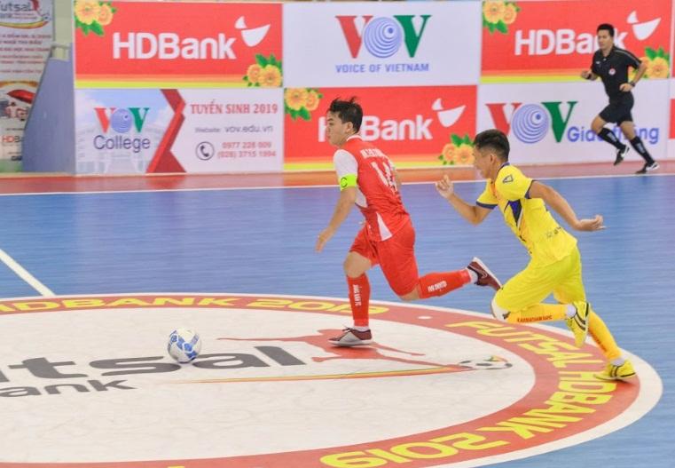 Lượt 7 VCK Giải Futsal HDBank VĐQG 2019: Thái Sơn Nam nhọc nhằn đánh bại Sahako