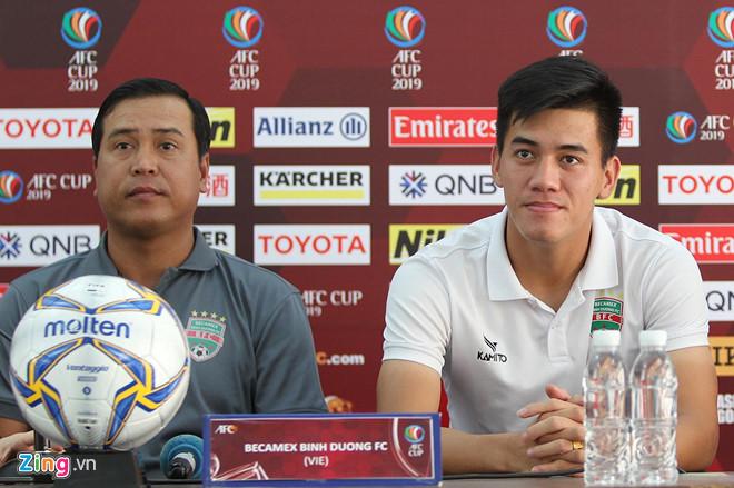 Tiến Linh muốn lấy vé đi tiếp ở AFC Cup cho Bình Dương