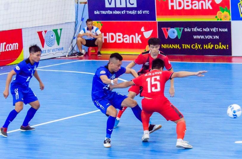 Lượt 8 VCK Giải Futsal HDBank VĐQG 2019: Thái Sơn Nam áp sát ngôi đầu, Sanna KH thất thế