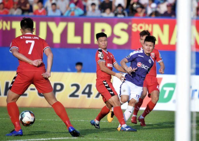 Vòng 8 Wake-up 247 V.League 1 – 2019: CLB Hà Nội thoát thua phút bù giờ